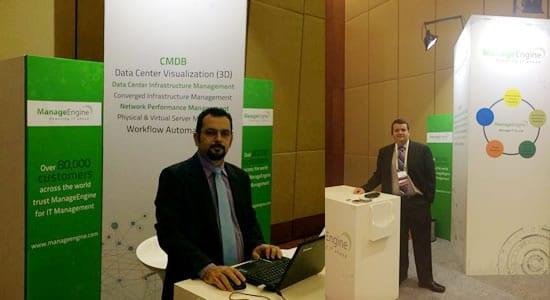 Rodrigo Miranda (Gerente de Contas) e Dyogo Junqueira (Diretor Comercial) da ACSoftware