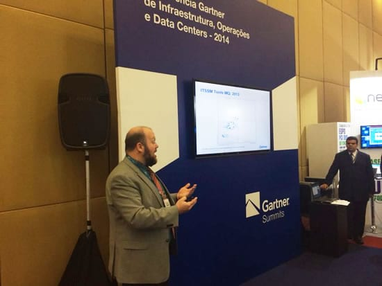Jeffrey M. Brooks falando sobre as ferramentas de ITSM no Gartner