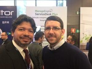 Anderson da Fonseca - Analista da ACSoftware e Rodrigo Egredia - CSD