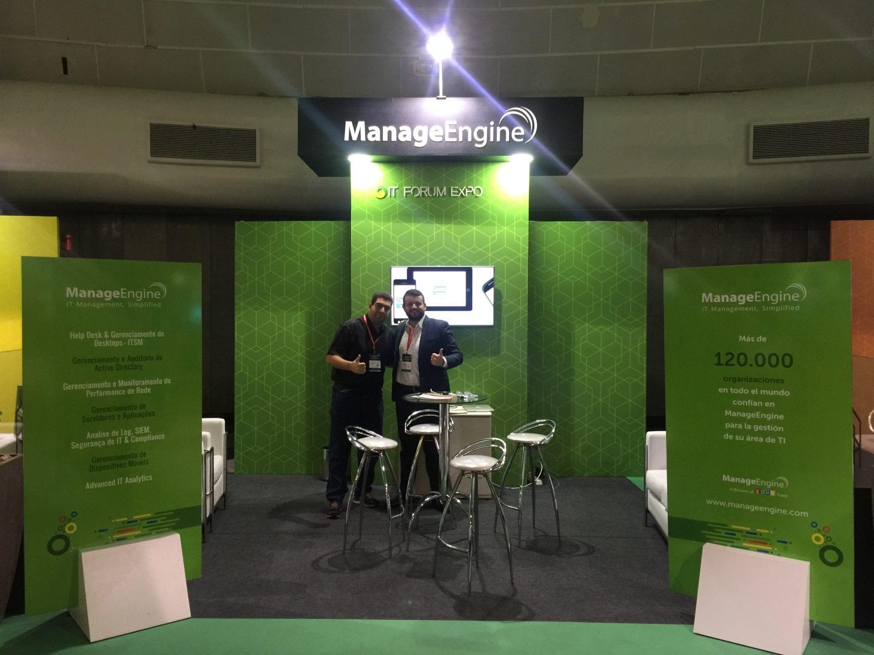 Tonimar Dal Aba - Cliente ManageEngine e Dyogo Junqueira - ACSoftware